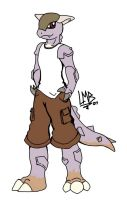 Berko the Kangaskhan by TakShadoWing