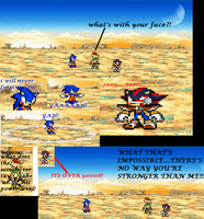 sonic dbz paradody comic by jaquille1