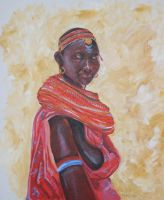 African woman by TheoBain