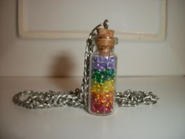 Rainbow in a Bottle by QueenAliceOfAwesome