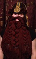 Gimli helm with eybrows before they were trimmed by Drgibbs