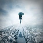 along unknown paths by photoflake