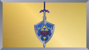 Hyrulian Shield - Textured by DrBoxHead