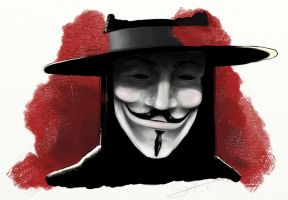 V for Vendetta by Teffy