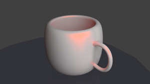 Quick mug design CAD Render by cjeccybut