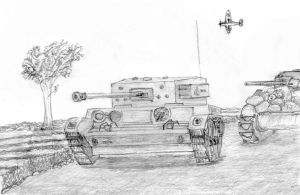 Armoured Advace by SimonLMoore