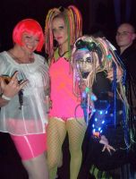 Glow party shots 2 by satablank