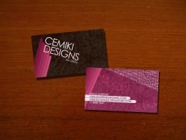 Business Card by miney004