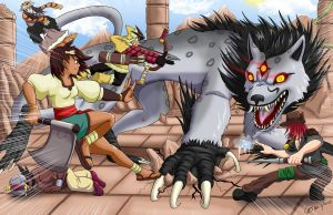 INDIVISIBLE Fan art Contest Submission by Shouhda
