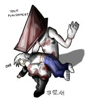 PYRAMID HEAD passes judgement by macawnivore