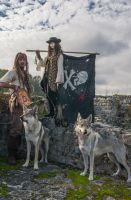 loup et pirates by theObscurite