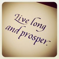 Instagram - Spock - Live Long by MShades