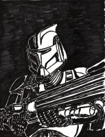 Clone Trooper Noir Style by Tribble-Industries