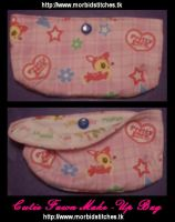 Cutie Fawn Make-Up Bag by morbid-stitches