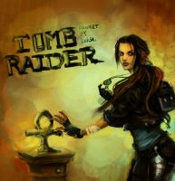Tomb raider fanart by LeksaArt