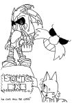Sonic.EXE playbill by filibolt