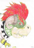Realistic Bowser by FancyTonic