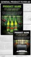 General Product magazine flyer Ad template by Hotpindesigns