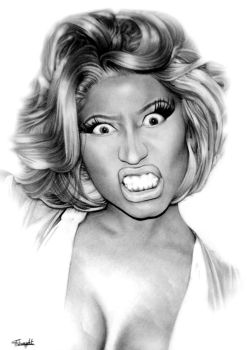 Nicki Minaj by tomwright666