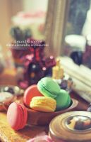 Macarons by AlexandraSophie