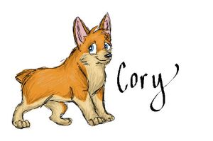 Cory the corgi by FizzyMartini