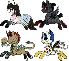 MLP Halloween Auction 2 [CLOSED] by Squidoptables
