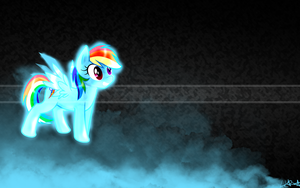 Rainbow Dash wallpaper by arkkukakku112