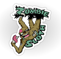 Zombie Sloth by Mehdals