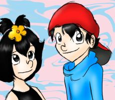 Dot and Wakko.. as humans? O_o by chikisingergrl