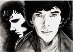 Sherlock Holmes BBC by gold-blonde