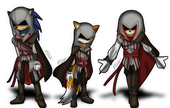 Sonic Assassins by FallenAngelCam7