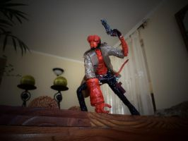 HELLBOY in wire by TheWallProducciones