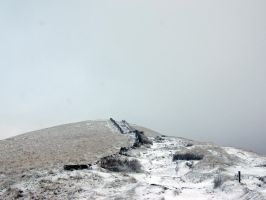 the snowy hill by Duckmad