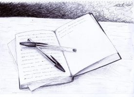 My note book... by Thatynha
