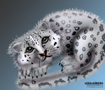 snow leopard by Celairen