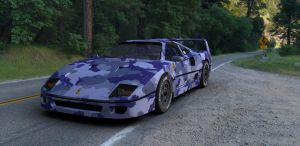 Ferrari F40 Special force . by TheRedCrown