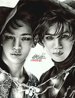 Key and Taemin by FreedomforGoku