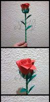 Rose for a present by Luray