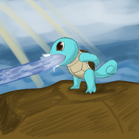 30MinChallenge - Squirtle by VedtheFlameDevil