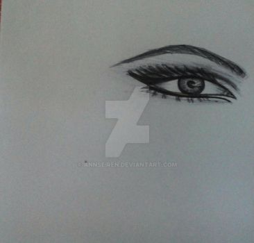 Eye Sketch by AnnSeiren