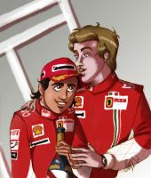 Rob and Felipe for the win by Noe-Izumi