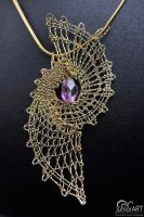 Pendant III. - bobbin lace by Junior-rk
