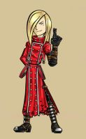 Burnout Girl as Vash the Stampede by BloodyWilliam