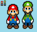 SMB The Movie - Mario Bros Color Palette by KingAsylus91