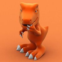 Agumon by archi3