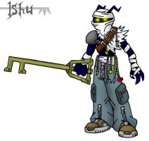 KH: Ishu the keyblade hunter by Fishbug