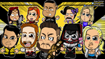 NXT Chibi Wrestlers Wallpaper by kapaeme