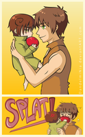 Spain and Romano by DandelmiNia