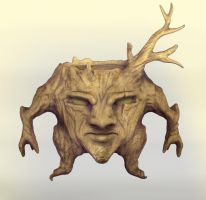 Tree Creature by lilyhosegood
