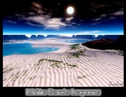 White sands Lagoon by kaluverdeano
